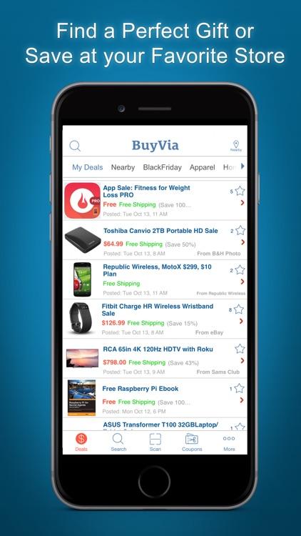 BuyVia - Best Deals, Shopping, Sales, Freebies