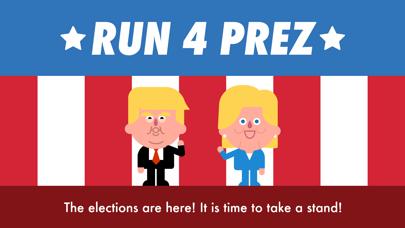 Run 4 Prez - Trump vs. Clinton screenshot one