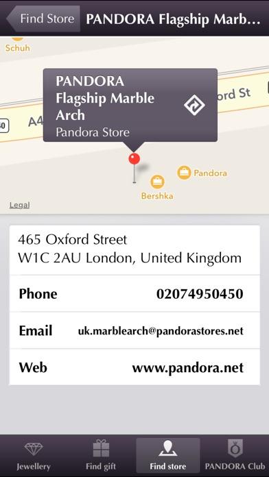 Pandora review screenshots