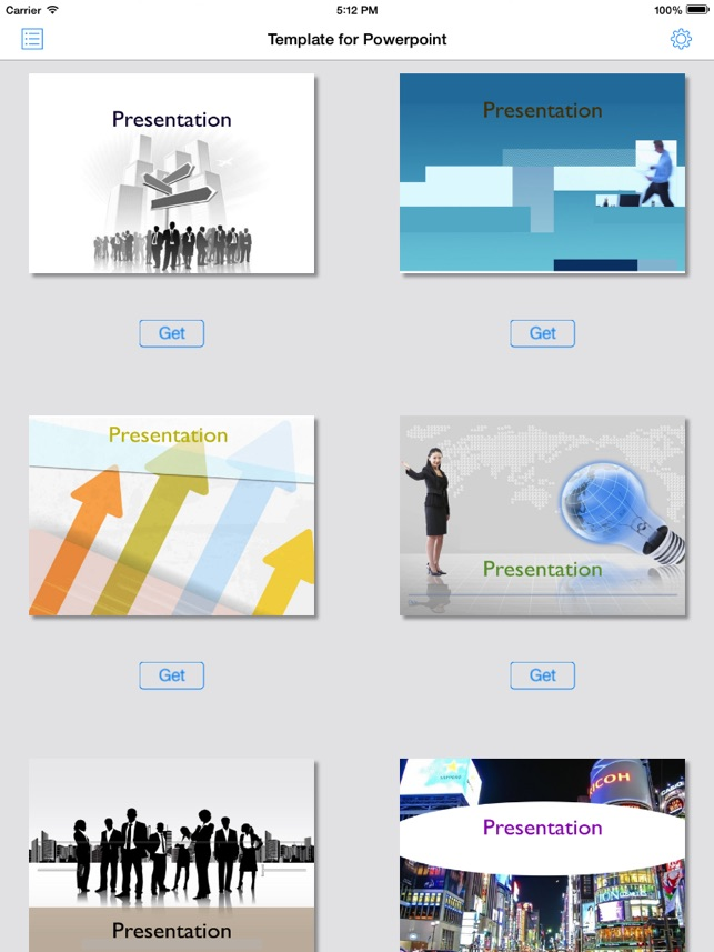 Factory for powerpointtemplatetheme on the app store factory for powerpointtemplatetheme on the app store toneelgroepblik Gallery