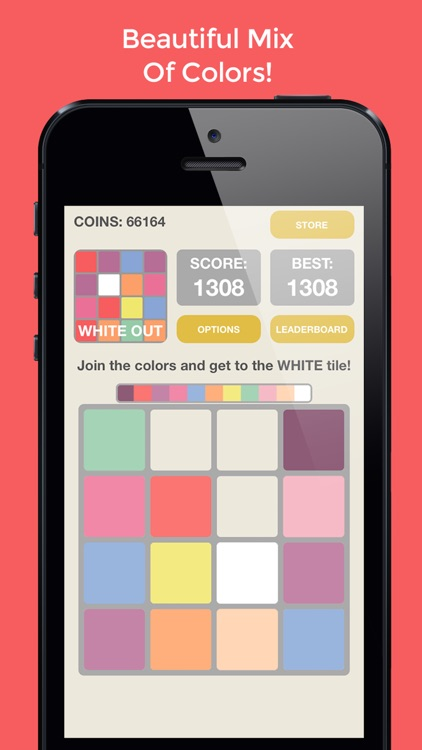2048: White Out - The Best Color, Tile, And Merge Puzzle For All Ages! screenshot-0