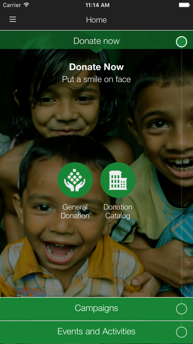 Emirates Charity screenshot two