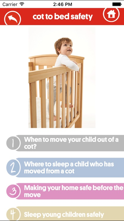 Red Nose Cot-to-Bed Safety screenshot-3