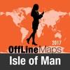 Isla de Man mapa offline y guía de viaje