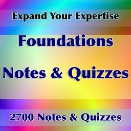 Foundations  Exam Prep 2700 Flashcards ,Study Note
