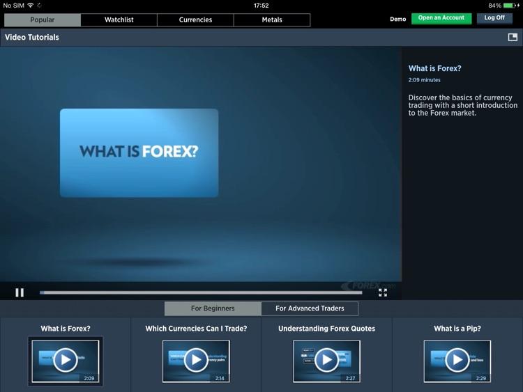 FOREXTrader for iPad screenshot-4