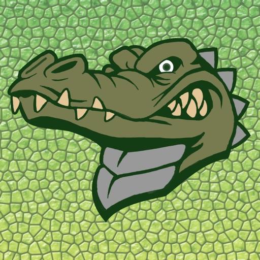 Fun with Crocodile - Angry Crocodile in Sea
