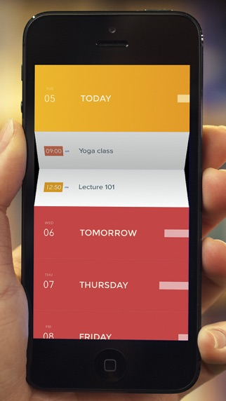 Peek Calendar - Simple et Minimaliste