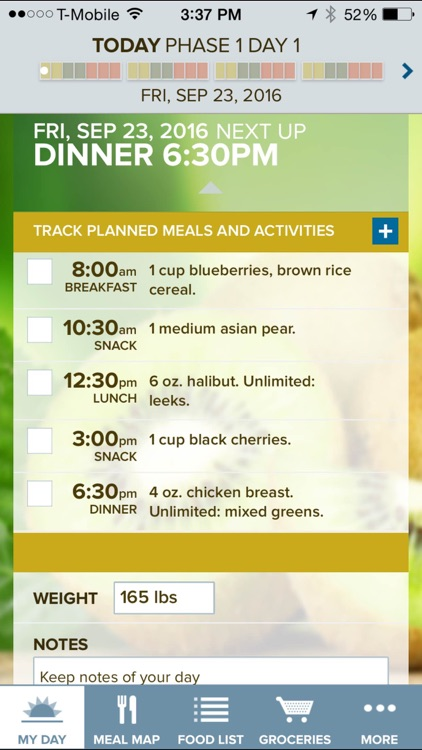 The Fast Metabolism Diet– customized meal planning screenshot-0