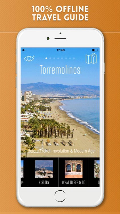 Torremolinos Travel Guide and Offline Street Map