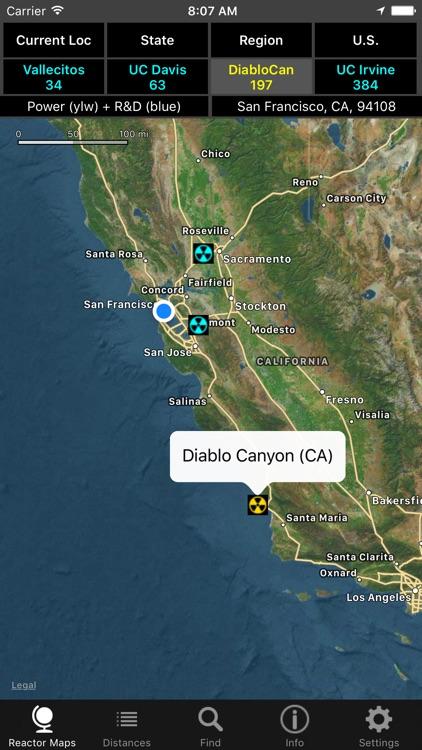 U.S. Nuclear Reactors screenshot-3