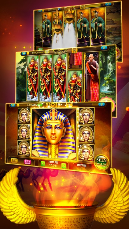 Pharaoh's Way Slots - Egypt Casino Slot Machines screenshot-3