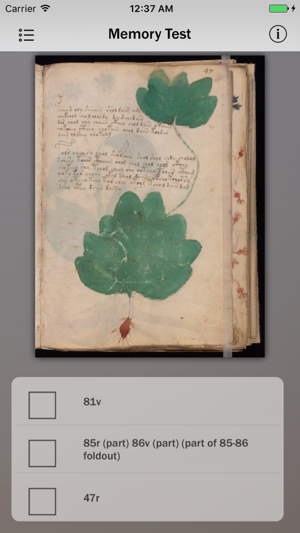 Voynich Manuscript Guide Screenshot