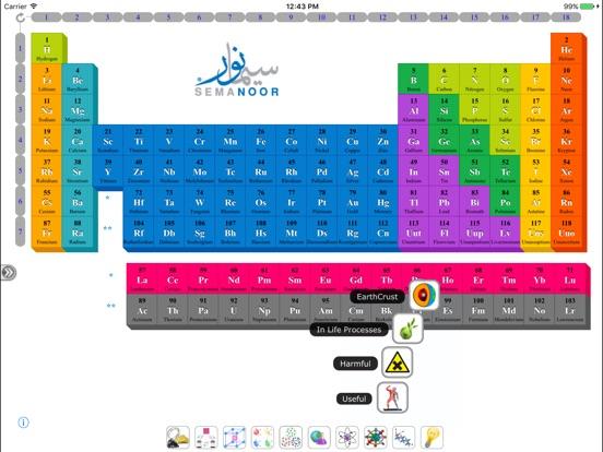 Semanoor periodic table app price drops screenshot 5 for semanoor periodic table urtaz Choice Image