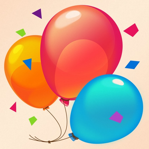 Birthday Cards Free: happy birthday photo frame, gift cards & invitation maker app logo