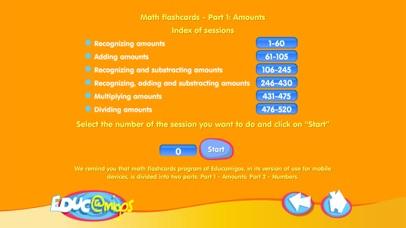 Math Flashcards - Amounts-0
