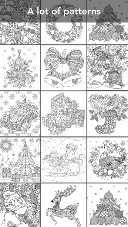 Coloring Book for Christmas screenshot-0