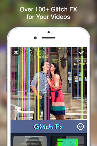 Glitch Art- Video Effects Edit screenshot 1