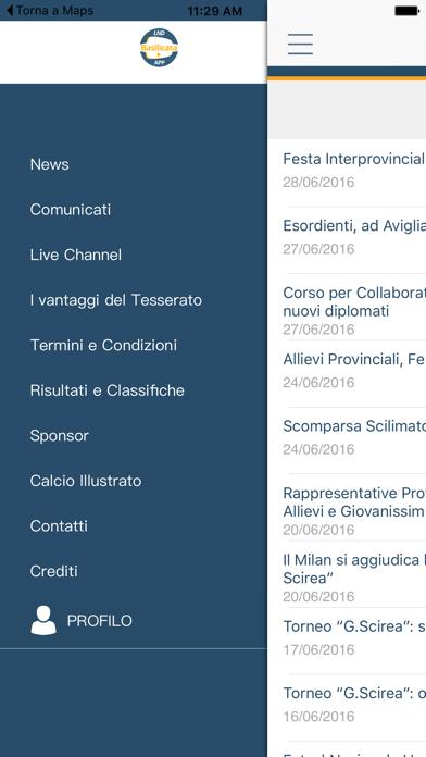 LND Basilicata screenshot three