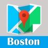 波士顿旅游指南地铁去哪儿美国地图 Boston MBTA T metro map guide