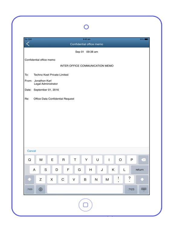 password notepad app