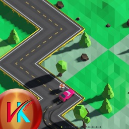 Speedy Turning Car Skill Driving Game