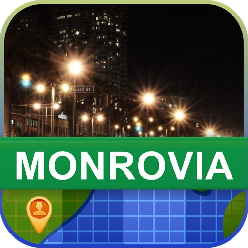 Offline Monrovia, Liberia Map - World Offline Maps