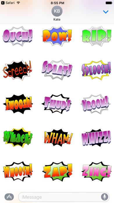 Ka-Pow! Comic Sound Effect BubblesScreenshot of 4