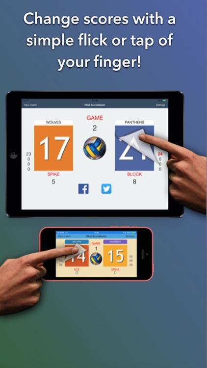 VBall ScoreMaster - The Best Volleyball Scoreboard screenshot-3