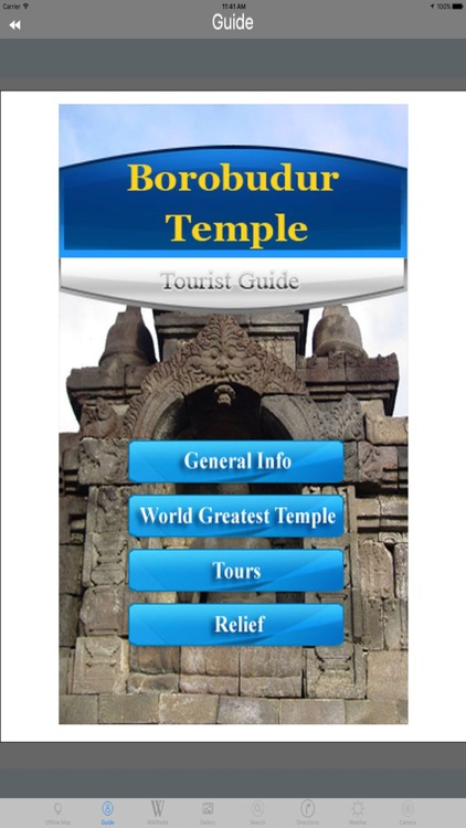 Borobudur Temple Indonesia Tourist Travel Guide screenshot-3