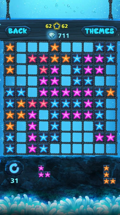 Block Puzzle: Ocean style,Popping bubbles screenshot-4