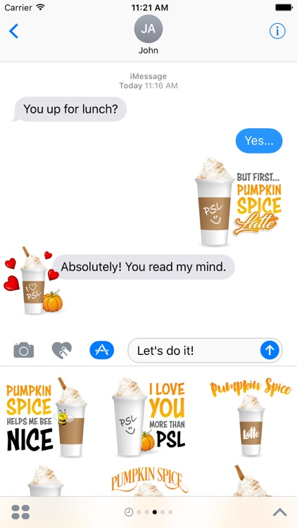 Pumpkin Spice Latte screenshot-1
