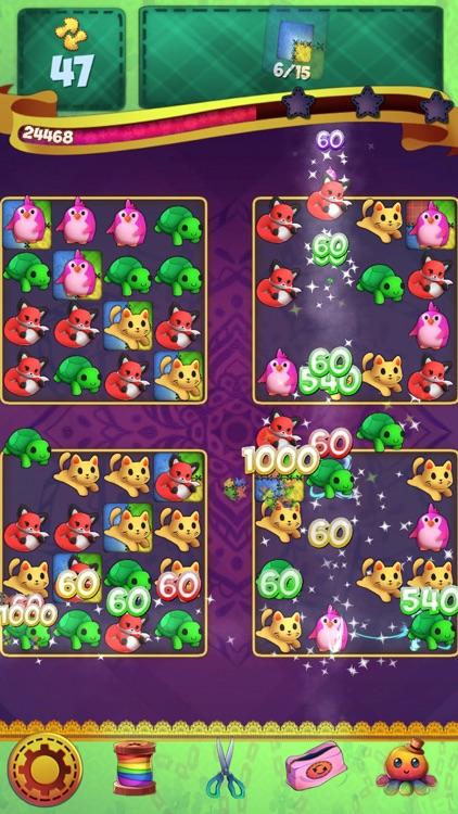 Fluffy Doll Friends: Match 3 Puzzle Games screenshot-4