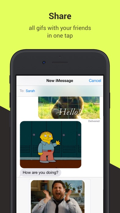 Gifster - Discover and share animated gifs screenshot four