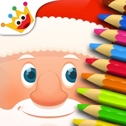 Christmas: Baby & Kids coloring book games - Free