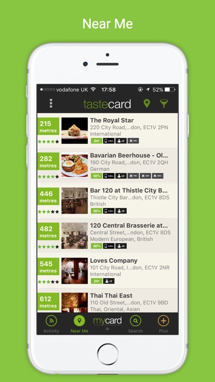 tastecard dining discounts screenshot-0