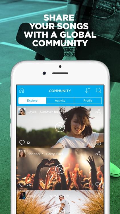Music Maker JAM: Create, remix & share your music! app image