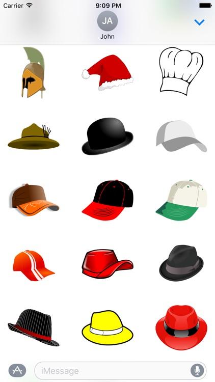 Hat Sticker Pack - Fun screenshot-3