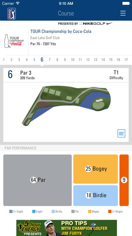 PGA TOUR Mobile screenshot-3