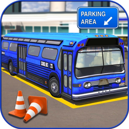 City Bus Parking : 3D Real Sim-ulation Drive-r