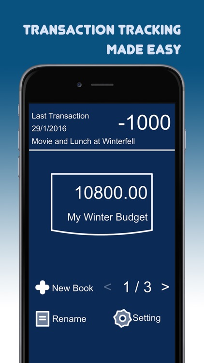 transaction tracker simple daily money management by supanat areekul
