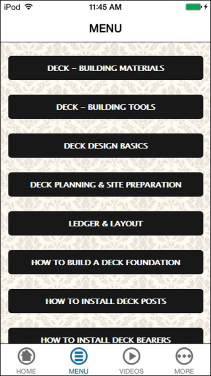 How to Build a Deck - Design & Step by Step Videos screenshot-4