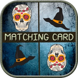 Halloween Match Game - Pairs Memory match game