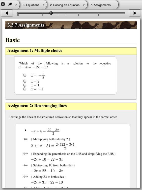 eMath 1 - Functions and equations screenshot-4