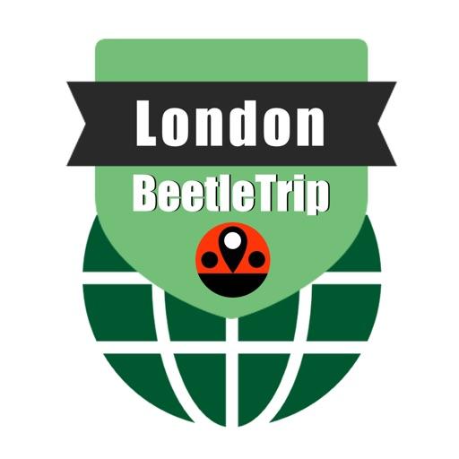 London travel guide and offline city map, BeetleTrip London metro train tube underground trip route planner advisor
