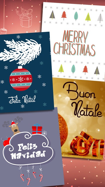2016 Merry Christmas Greeting Cards & Messages screenshot-3