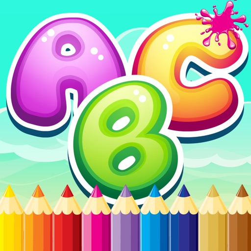 Abc Paint Draw Coloring Book For Toddler And Kids | From ...