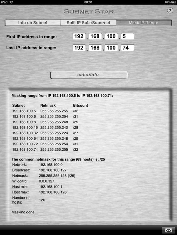 Subnet Star screenshot-3