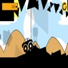 black car racing extreme game for adventure