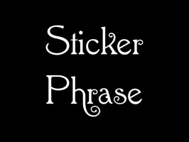 Sticker Phrase - stickers for iMessages